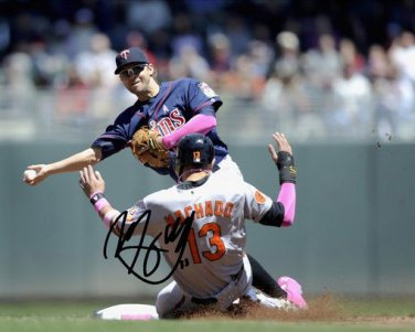 ** MANNY MACHADO SIGNED PHOTO 8X10 RP AUTOGRAPHED BALTIMORE ORIOLES