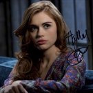 * TEEN WOLF HOLLAND RODEN SIGNED POSTER PHOTO 8X10 RP AUTOGRAPHED