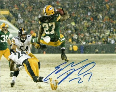 EDDIE LACY SIGNED PHOTO 8X10 RP AUTOGRAPHED ** GREEN BAY PACKERS