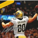 JIMMY GRAHAM SIGNED PHOTO 8X10 RP AUTOGRAPHED NEW ORLEANS SAINTS