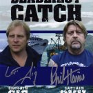 CAPTAINS PHIL HARRIS & SIG HANSEN SIGNED PHOTO 8X10 RP AUTOGRAPH DEADLIEST CATCH