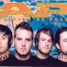 THRICE BAND SIGNED PHOTO 8X10 RP AUTOGRAPHED * ALL MEMBERS