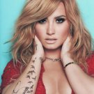 DEMI LOVATO SIGNED POSTER PHOTO 8X10 RP AUTOGRAPHED