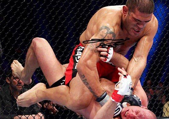 ANTONIO SILVA SIGNED PHOTO 8X10 RP AUTOGRAPHED VS FEDOR EMELIANENKO UFC MMA