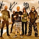 FIVE FINGER DEATH PUNCH BAND SIGNED PHOTO 8X10 RP AUTOGRAPHED