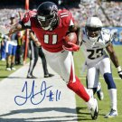 JULIO JONES SIGNED AUTOGRAPHED PHOTO RP 8X10 ATLANTA FALCONS