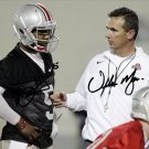BRAXTON MILLER URBAN MEYER SIGNED PHOTO 8X10 RP AUTOGRAPHED OHIO STATE BUCKEYES