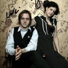 WIN BUTLER REGINE CHASSAGNE SIGNED POSTER PHOTO 8X10 RP ARCADE FIRE FUNERAL