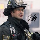 Taylor Kinney signed Autographed photo rp 8x10 Chicago Fire TV show