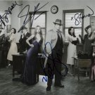 CASTLE CAST NATHAN FILLION STANA KATIC ++ SIGNED PHOTO RP 8X10 AUTOGRAPHED