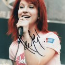 * HAYLEY WILLIAMS SIGNED AUTOGRAPHED PHOTO RP 8X10 PARAMORE !
