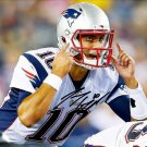 JIMMY GAROPPOLO SIGNED AUTOGRAPHED PHOTO RP 8X10 AUTO NEW ENGLAND PATRIOTS