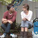 ANSEL ELGORT & SHAILENE WOODLEY SIGNED PHOTO 8X10 RP THE FAULT IN OUR STARS