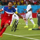 WORLD CUP CLINT DEMPSEY SIGNED PHOTO 8X10 RP AUTO 2014 FIFA SOCCER
