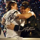 SEAN PAYTON DREW BREES SIGNED PHOTO 8X10 RP AUTOGRAPHED NEW ORLEANS SAINTS