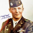 MAJOR DICK WINTERS SIGNED PHOTO 8X10 RP AUTOGRAPHED BAND OF BROTHERS **