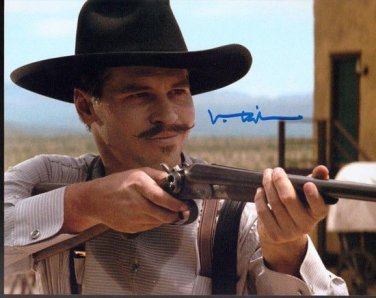VAL KILMER SIGNED PHOTO 8X10 RP AUTOGRAPHED TOMBSTONE DOC HOLLIDAY