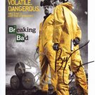 * BREAKING BAD CAST SIGNED POSTER PHOTO 8X10 RP AARON PAUL BRYAN CRANSTON