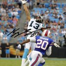 PANTHERS KELVIN BENJAMIN SIGNED PHOTO 8X10 RP AUTOGRAPHED CAROLINA