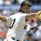 * MADISON BUMGARNER SIGNED PHOTO 8X10 RP AUTOGRAPHED GIANTS MLB BASEBALL