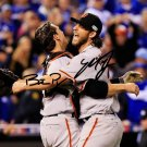 MADISON BUMGARNER & BUSTER POSEY SIGNED PHOTO 8X10 AUTOGRAPHED * GIANTS BASEBALL
