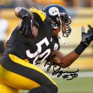 * STEELERS FIRST PICK RYAN SHAZIER SIGNED PHOTO 8X10 RP AUTOGRAPHED PITTSBURGH
