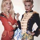 NERVO signed photo 8x10 rp Autographed Miriam & Olivia Heel Revolution
