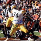 JEROME BETTIS SIGNED PHOTO 8X10 RP AUTOGRAPHED PITTSBURGH STEELERS THE BUS