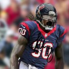 Jadeveon Clowney signed photo 8x10 rp Autographed Houston Texans