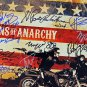 SONS OF ANARCHY CAST SIGNED PHOTO 8X10 RP AUTOGRAPHED CHARLIE HUNNAM KATEY SAGAL