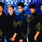 ONE DIRECTION FULL GROUP SIGNED AUTOGRAPHED POSTER PHOTO RP 8X10 HARRY STYLES