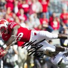 MELVIN GORDON SIGNED PHOTO 8X10 RP AUTOGRAPHED WISCONSIN BADGERS