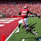 * MELVIN GORDON SIGNED PHOTO 8X10 RP AUTOGRAPHED WISCONSIN BADGERS