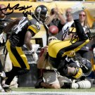 LE'VEON BELL ANTONIO BROWN SIGNED PHOTO 8X10 RP AUTOGRAPHED PITTSBURGH STEELERS