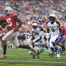 EZEKIEL ELLIOTT SIGNED PHOTO 8X10 RP AUTOGRAPHED OHIO STATE BUCKEYES FOOTBALL !