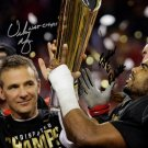 URBAN MEYER EZEKIEL ELLIOTT SIGNED PHOTO 8X10 RP AUTOGRAPHED NATIONAL CHAMPS OHIO STATE FOOTBALL !