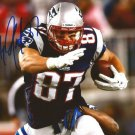 ROB GRONKOWSKI SIGNED PHOTO 8X10 RP AUTOGRAPHED NEW ENGLAND PATRIOTS FOOTBALL
