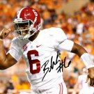 BLAKE SIMS SIGNED PHOTO 8X10 RP AUTOGRAPHED ALABAMA FOOTBALL !