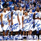 KENTUCKY WILDCATS TEAM SIGNED PHOTO 8X10 RP AUTOGRAPHED WILLIE CAULEY-STEIN +