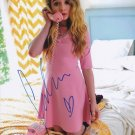 SABRINA CARPENTER SIGNED PHOTO 8X10 RP AUTOGRAPHED