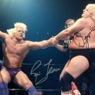 DUSTY RHODES & RIC FLAIR SIGNED PHOTO 8X10 RP AUTOGRAPHED WWE WRESTLING