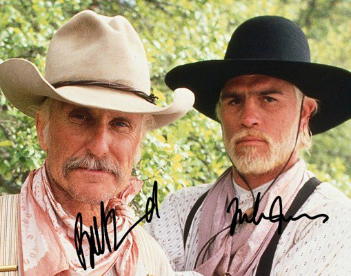 LONESOME DOVE CAST SIGNED PHOTO 8X10 RP AUTOGRAPH ROBERT DUVALL TOMMY LEE JONES