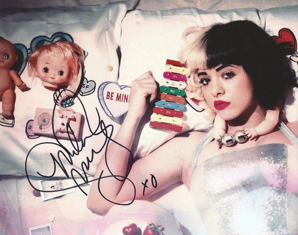** MELANIE MARTINEZ SIGNED PHOTO 8X10 RP AUTOGRAPHED CRY BABY