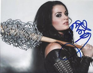 PAIGE SIGNED PHOTO 8X10 RP AUTOGRAPHED DIVA WWE WRESTLING