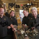 PAWN STARS CAST SIGNED PHOTO 8X10 RP AUTOGRAPHED THE OLD MAN