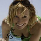 * KARI BYRON SIGNED PHOTO 8X10 RP AUTOGRAPHED MYTHBUSTERS