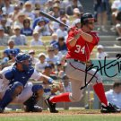 BRYCE HARPER SIGNED PHOTO 8X10 RP AUTOGRAPHED WASHINGTON NATIONALS