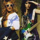 DAVID LEE ROTH & STEVE VAI SIGNED PHOTO 8X10 RP AUTOGRAPHED Eat 'Em and Smile