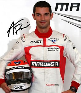 * ALEXANDER ROSSI SIGNED PHOTO 8X10 RP AUTO AUTOGRAPHED INDIANAPOLIS  500