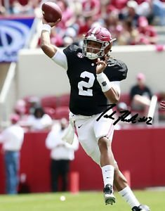 JALEN HURTS SIGNED PHOTO 8X10 RP AUTOGRAPHED ALABAMA CRIMSON TIDE FOOTBALL
